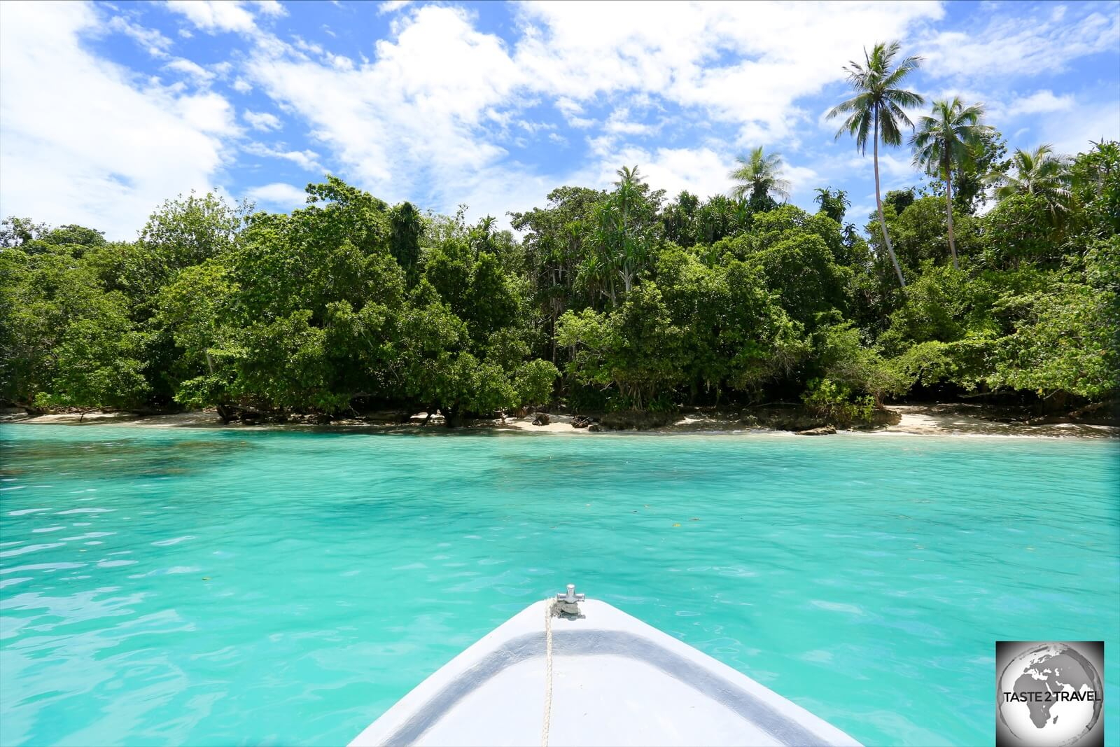 The idyllic Pig Island is one of 600 islands in Papua New Guinea.