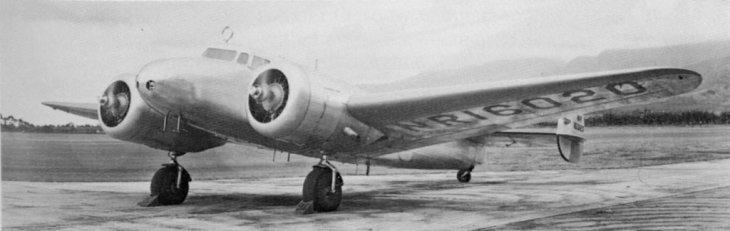 Amelia Earhart's Lockheed Electra 10E.