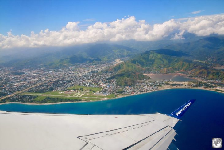 Departing Dili on my Airnorth flight back to Darwin.
