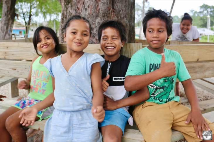 The Nauruans are a mixture of Micronesian, Polynesian and Melanesian descent.