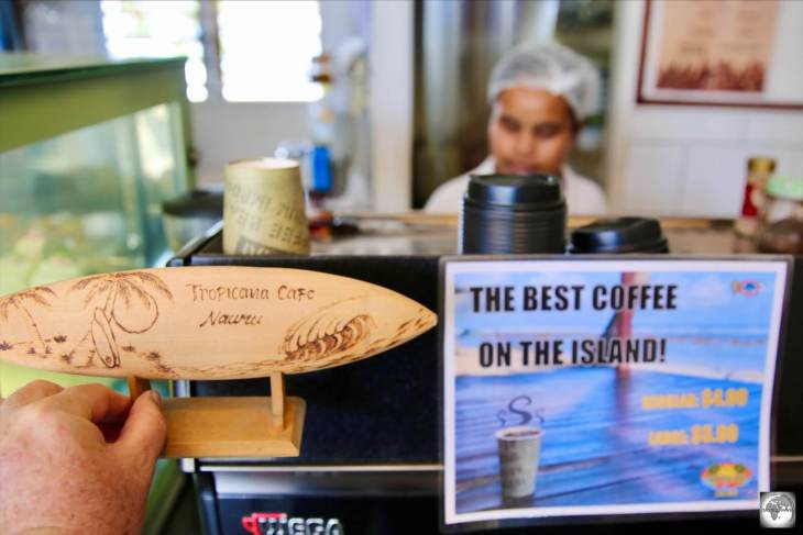 The Tropicana café claims to offer the best coffee on Nauru.