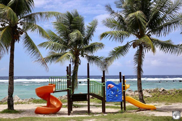 A playground on Nauru.