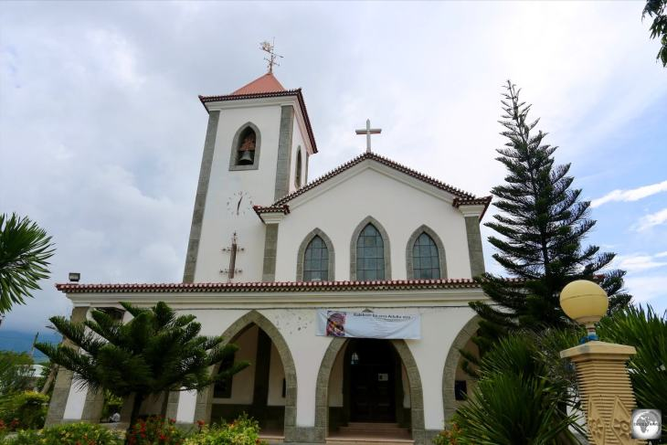 The most popular place for Sunday mass in Catholic Timor-Leste is the Church de Santo António de Motael.