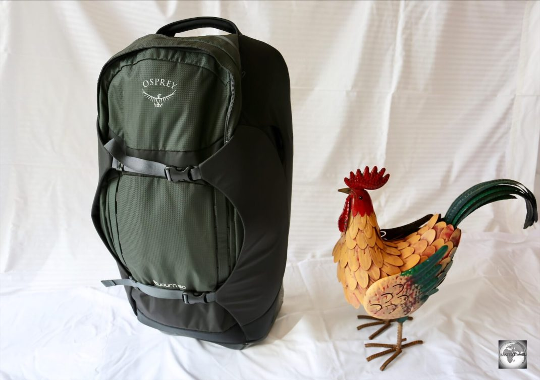 Osprey Sojourn 80 backpack.