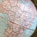 Africa Globe Map