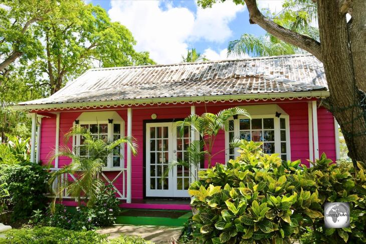Pink Chattel House, Barbados.