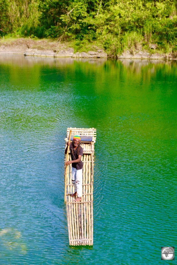 Rafting the Rio Grande river.