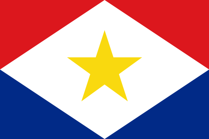 Flag of Saba.