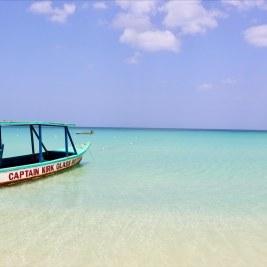 A Tour boat on Provo Island.