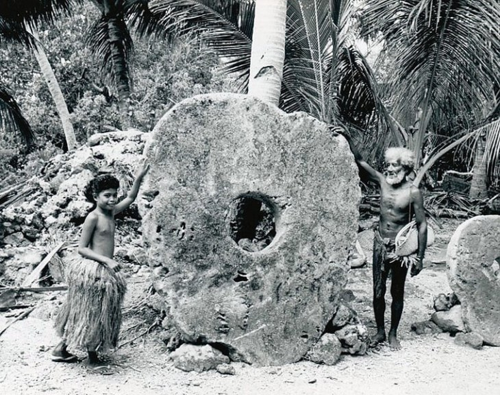 Yap Stone Currency.