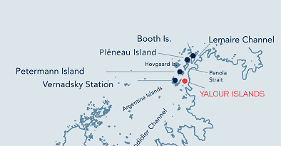 Yalour Island location map.