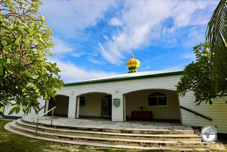 Home Island Mosque, Cocos (Keeling) Islands.