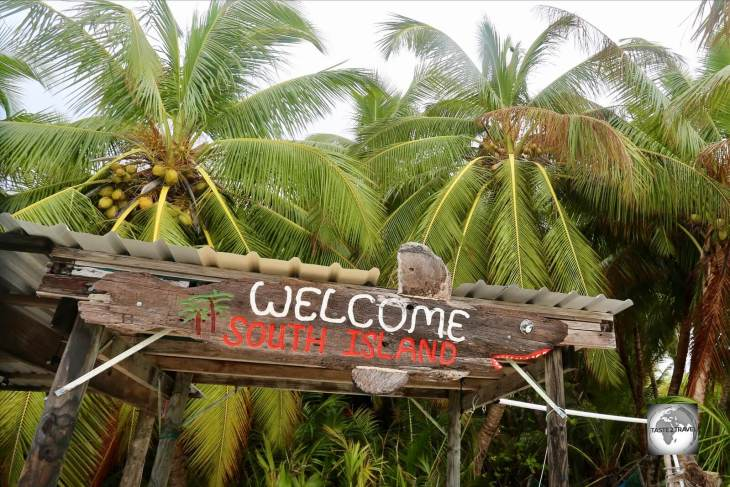 The uninhabited South Island is the southernmost and easternmost island of the Cocos (Keeling) Islands.