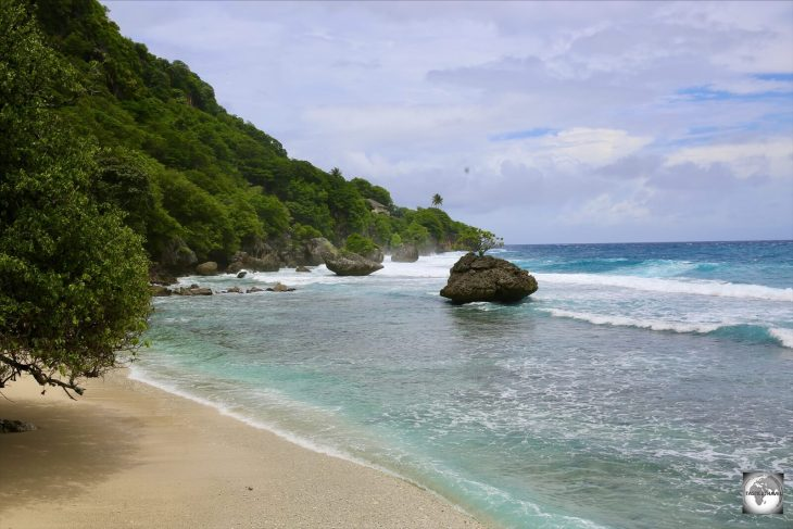 Flying Fish Cove is the one beach on Christmas Island which allows swimming - but only on calm days.