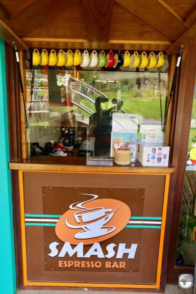 The take-away window at <i>Smash Espresso bar</i>.