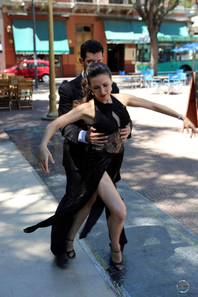 San Telmo, the oldest neighbourhood in Buenos Aires, is a hot spot of tango dancing, colonial architecture and lively street markets.