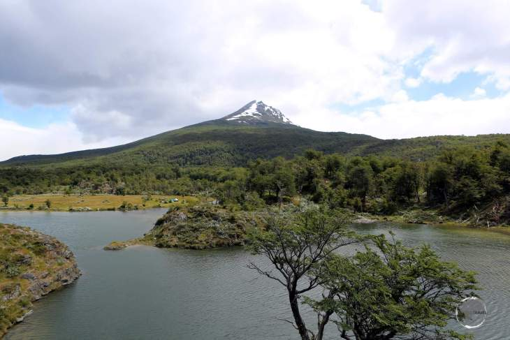 A view of Lapataia Bay, Tierra del Fuego National Park, Argentina.