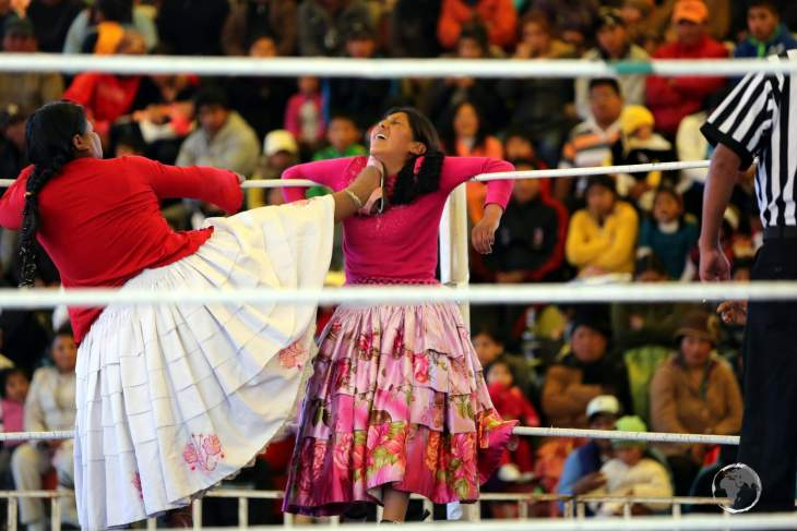 Cholita wrestling is a showcase of pride and athleticism that embodies a new era of empowerment for Bolivian indigenous women.