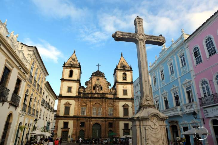 The São Francisco Church and Convent of Salvador is located in the historical centre of Salvador, in the State of Bahia, Brazil.