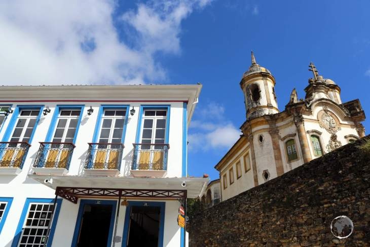 Located in the mountains of Minas Gerais state, the mining town of Ouro Preto is a treasure trove of Baroque, Portuguese, colonial-era architecture.