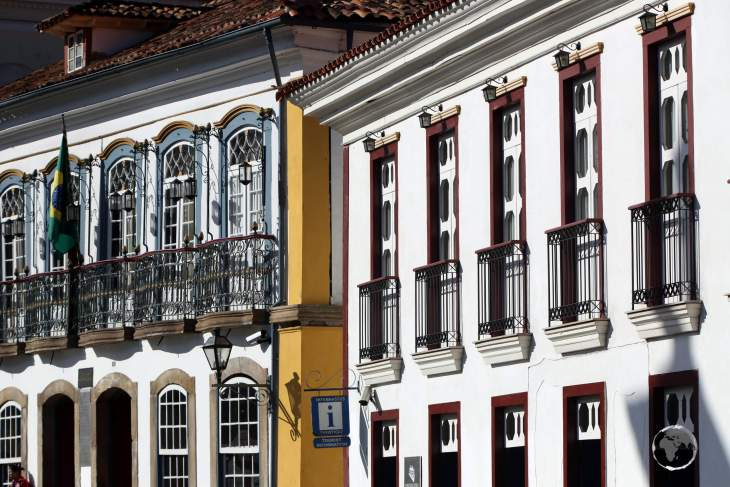 Ouro Preto, a UNESCO World Heritage site, is famous for its outstanding Baroque Portuguese colonial architecture.