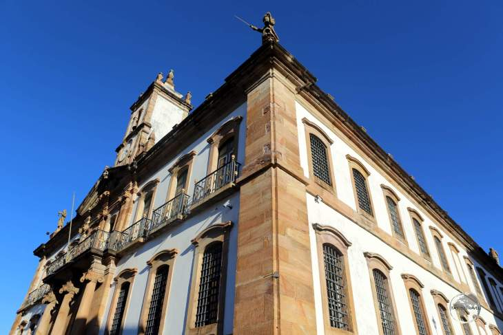 The streets of historic Ouro Preto are lined with magnificent examples of Portuguese colonial-era Baroque architecture.