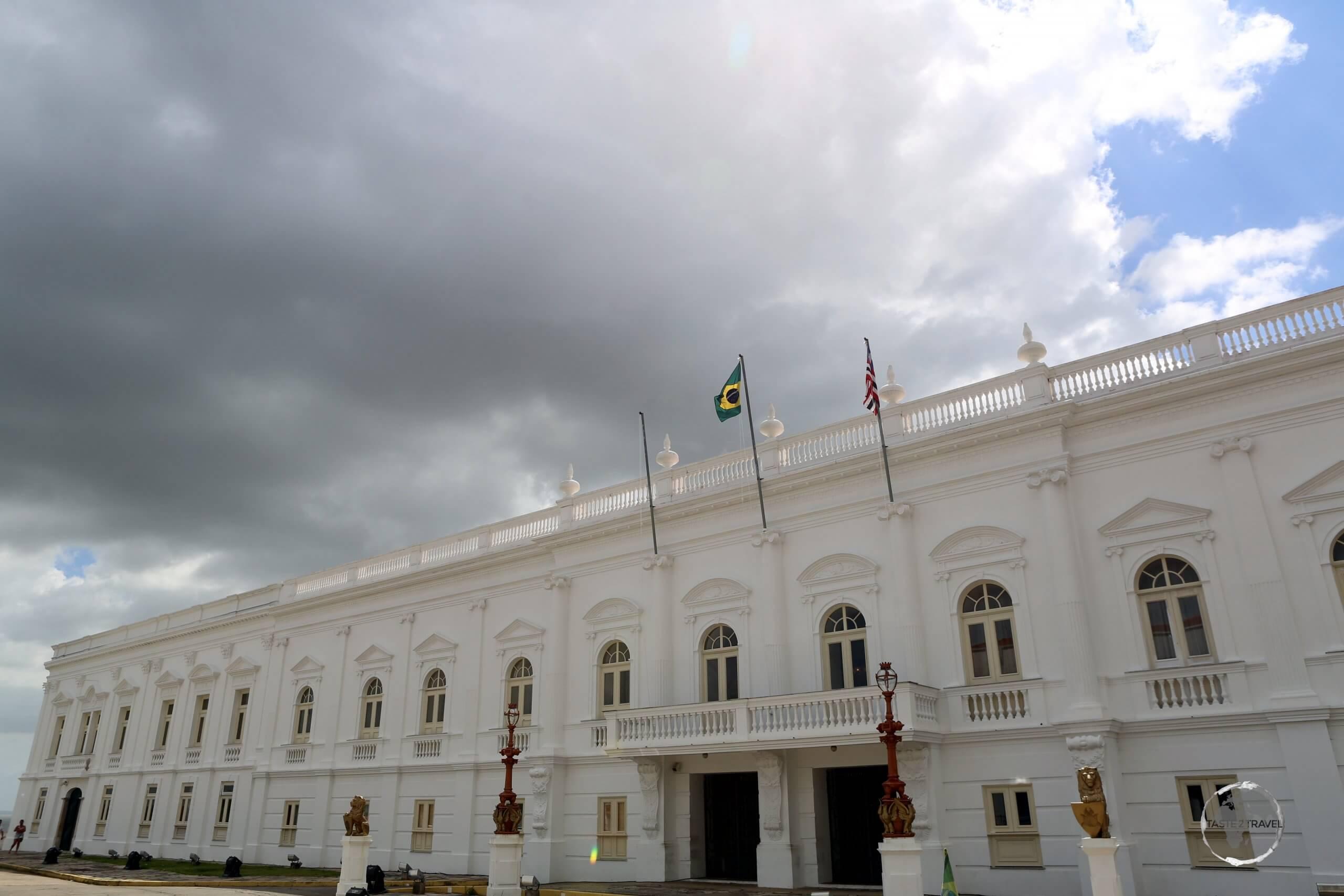 Palacio dos Leoes, Governor's Palace, São Luis, Maranhão state.