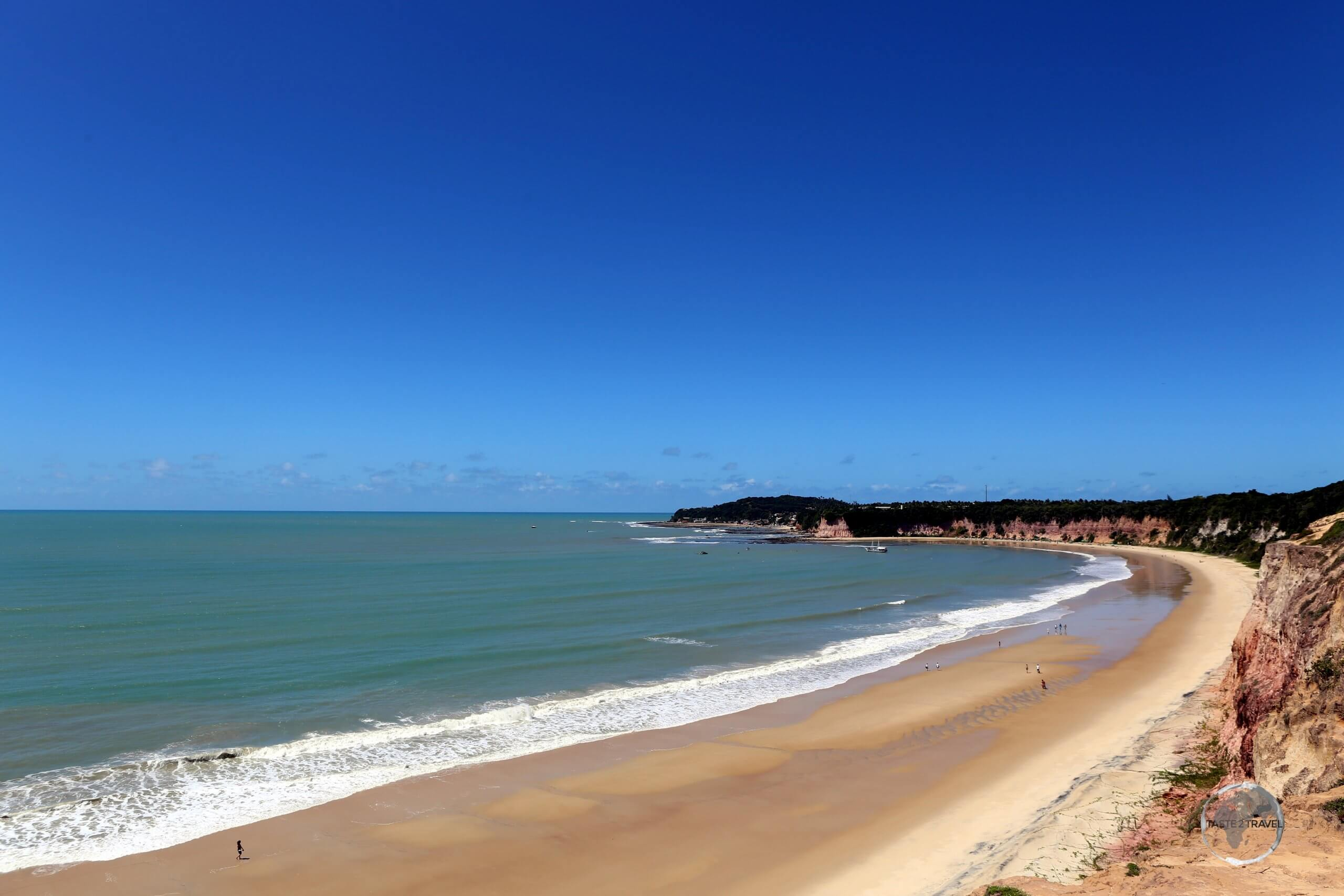 Pipa Beach (Praia de Pipa in Portuguese) is one of the most famous beaches of Brazil, located to the south of the city of Natal, in the state of Rio Grande do Norte.