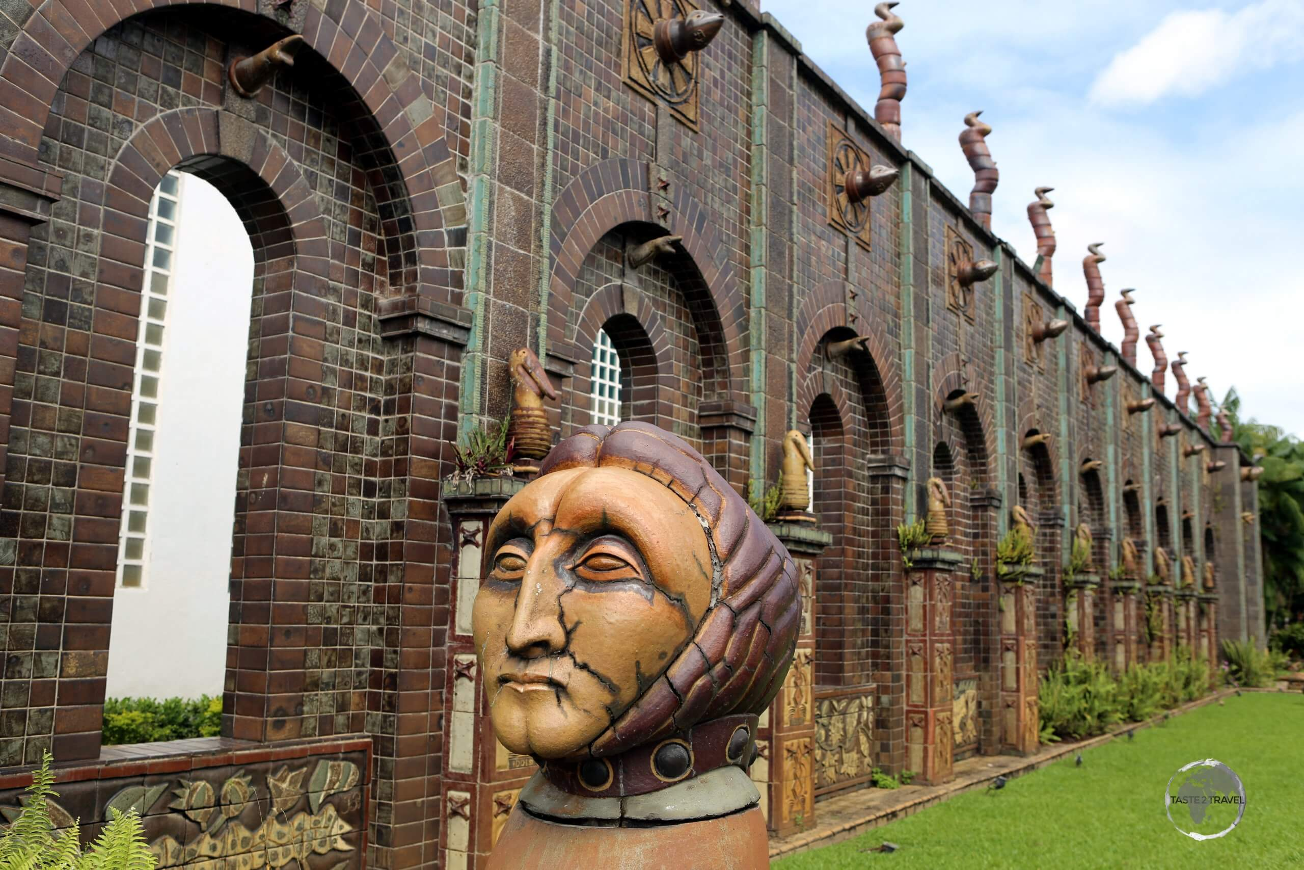 Located in the suburbs of Recife, Francisco Brennand's Ceramic Workshop is home to a vast collection of ceramic artworks which are displayed in a large garden.