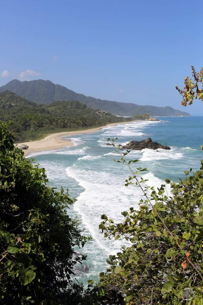 The Tayrona National Park, in northern Colombia, is a large protected area covering the foothills of the Sierra Nevada de Santa Marta as they meet the Caribbean coast.