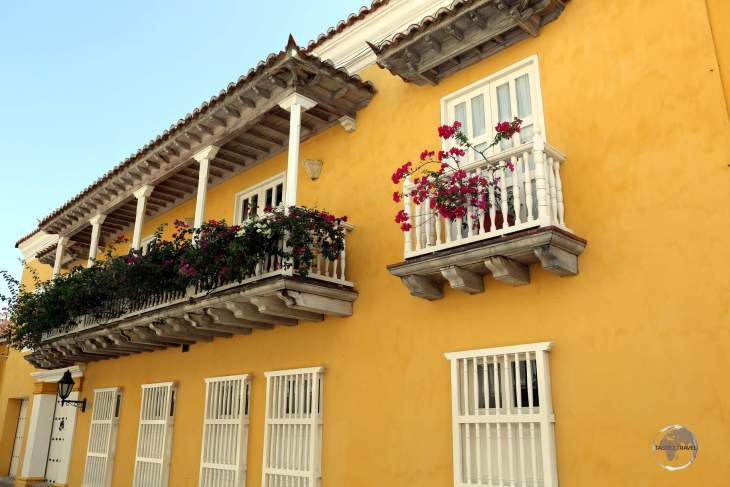 Views of Cartagena old town, which once served as the main port for trade between Spain and its 'new world' empire.
