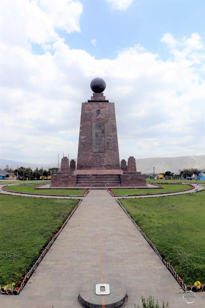 Located at 'La Mitad del Mundo', the 30-metre tall 'Monument to the Equator' offers an equatorial viewing platform and an ethnographic museum.