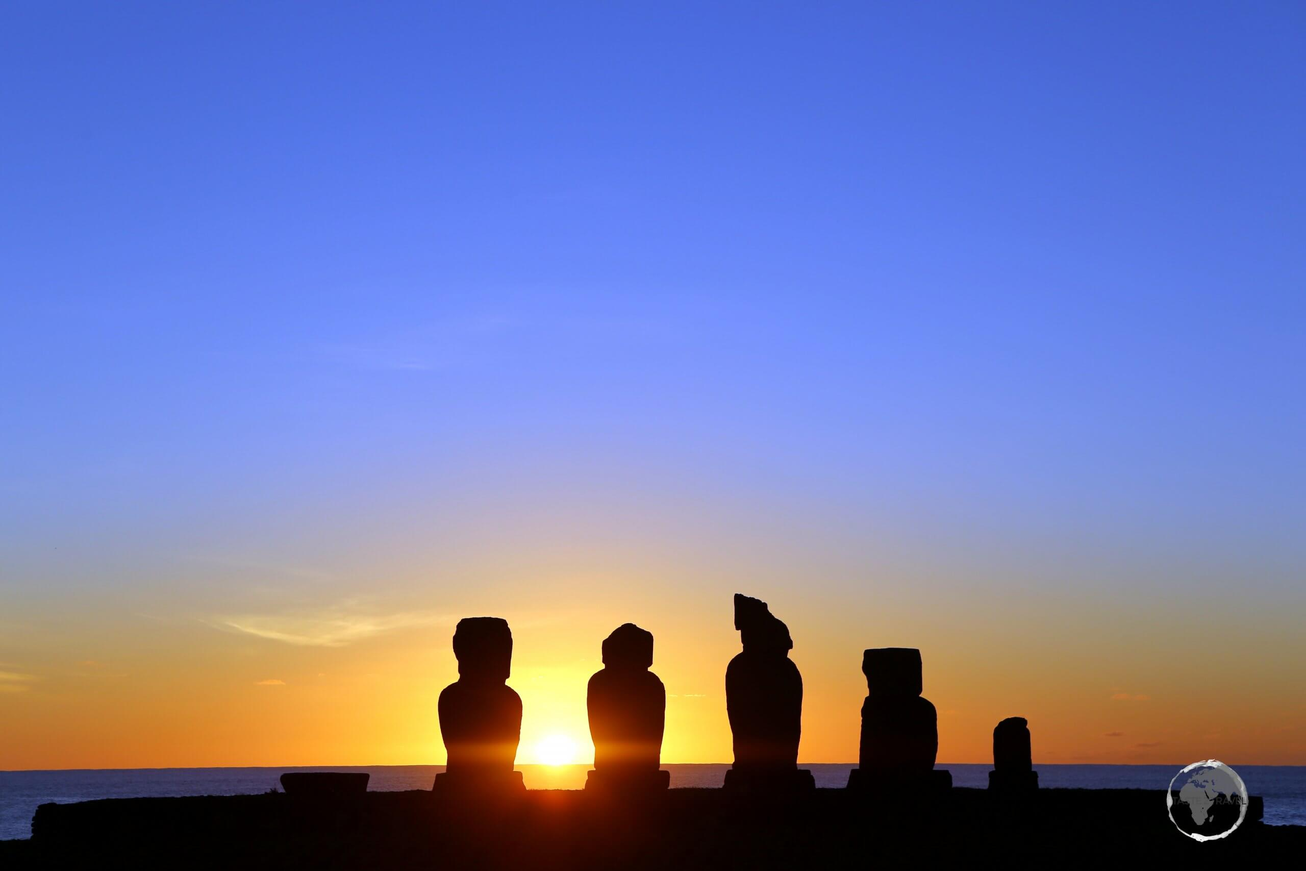 The archaeological site of Ahu Tahai is home to one of the oldest settlements on Easter island, with evidence of human activity dating back to 700 AD.