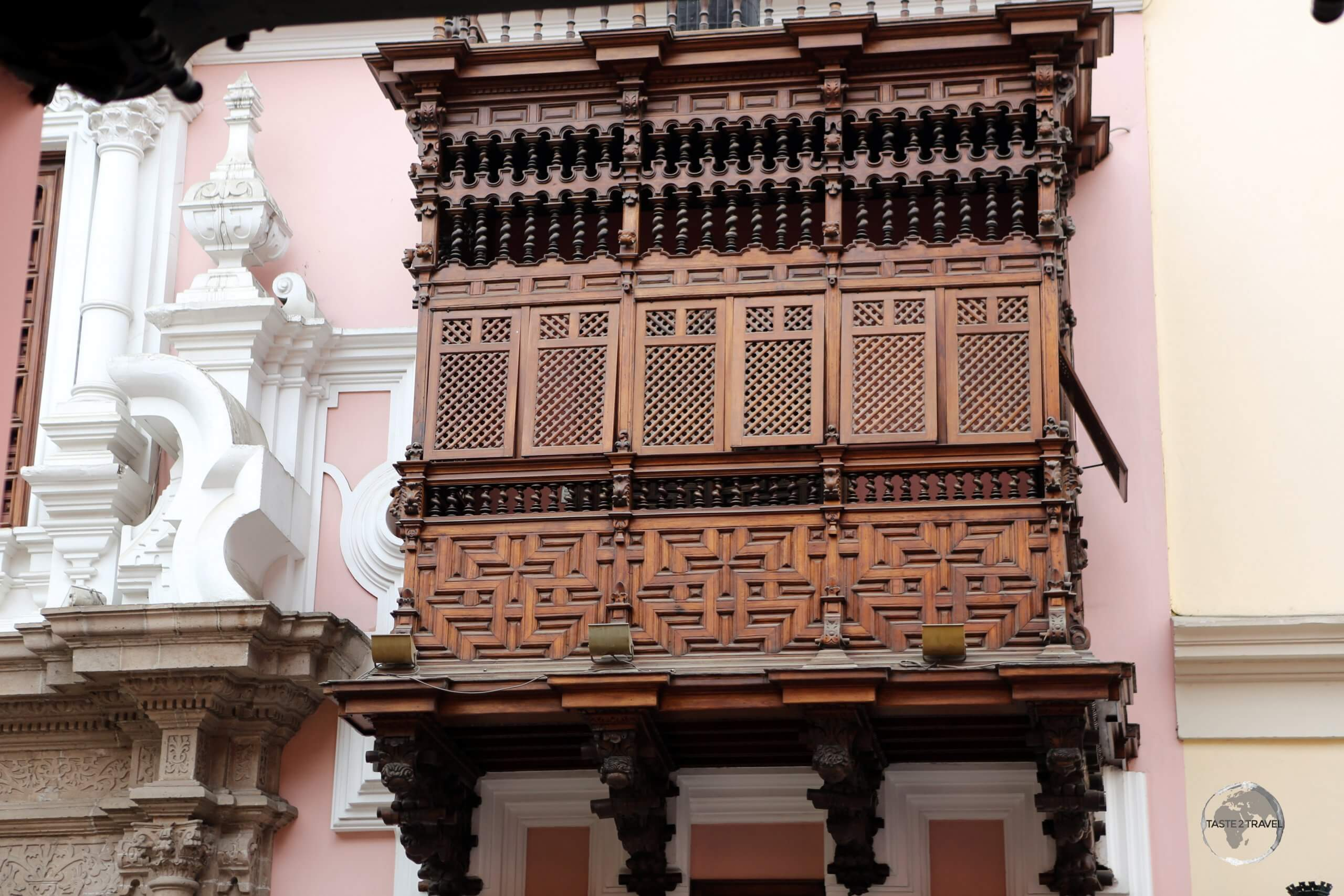 The northern Peruvian city of Trujillo, the first Spanish colony in Peru, is famous for its lavish colonial architecture, and colourful mansions.