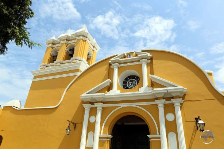 Located in Trujillo, the original Iglesia de Santo Domingo was completed in 1562, but it was destroyed by the earthquake of 1619. It was subsequently rebuilt and consecrated in 1641.
