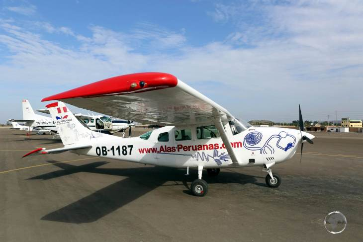 My 30-minute flight with 'Alas Peruanas' over the Nazca Lines overflew 13 Nazca figures, including the Hummingbird, Monkey and the Astronaut.