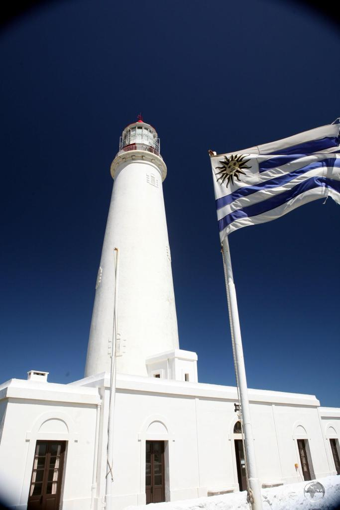 Built in 1874, Cabo Santa Maria Lighthouse is located in the seaside resort town of La Paloma.