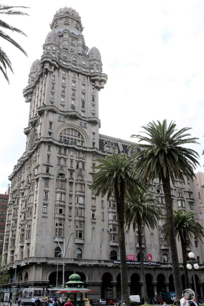 Completed in 1928, the Palacio Salvo is a landmark building in downtown Montevideo.