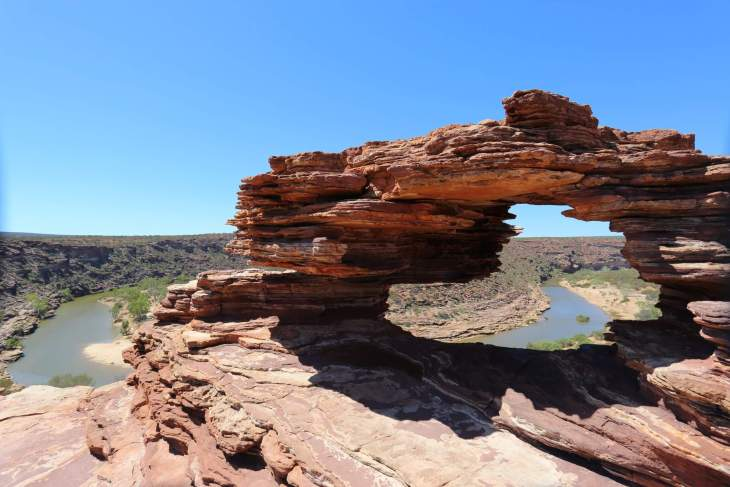 Views from the Kalbarri National Park.
