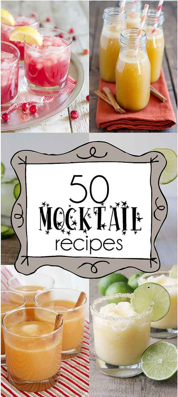 50 Mocktail Recipes Taste And Tell