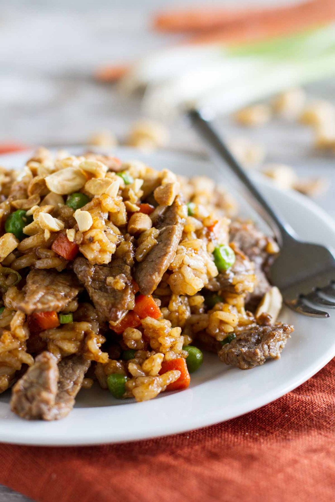 Asian Stir Fry Recipe - Rice and Beef Stir Fry - Taste and ...
