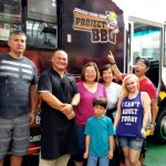 Photo with the Chef at Project BBQ on Fremont Street
