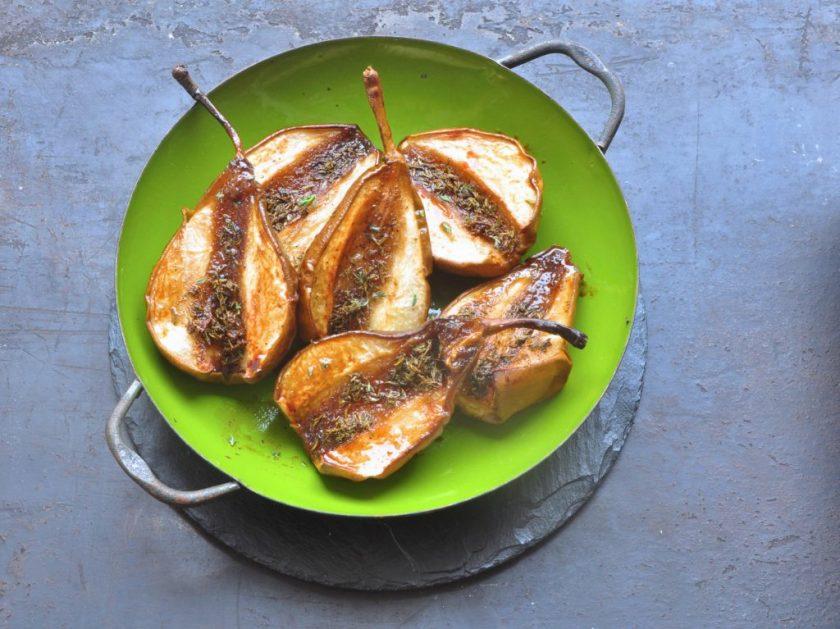 Vegan_Cuisine_Braised_pears