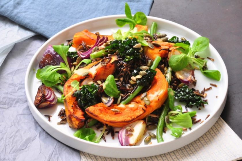 The_new_green_salad_salad_with_wild_rice_and_roasted_pumpkin_2