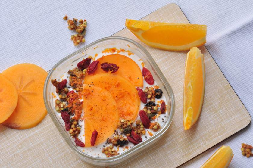 Christmas granola with orange and spices_3