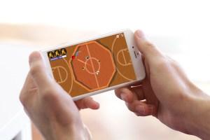 Gaga Champ App Basketball Level