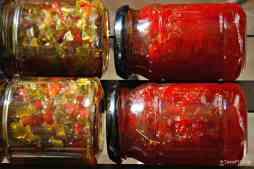 γλυκόξινες πιπεριές