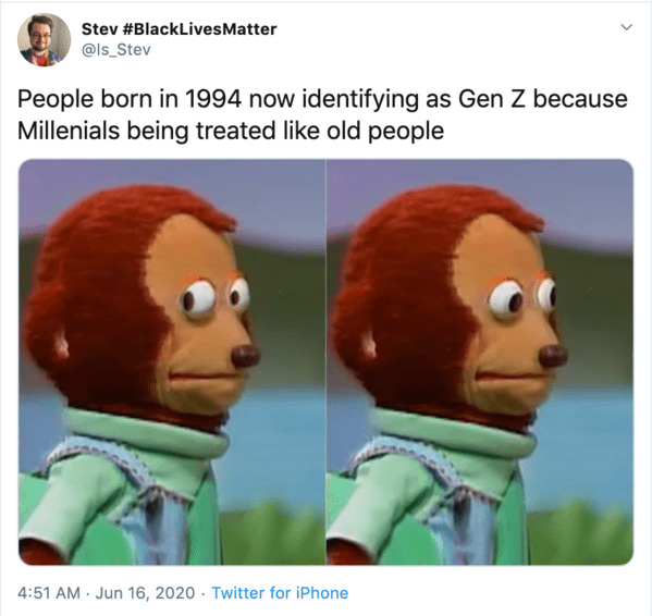Millennials gen z memes, funny roasts of millennials, get z mean to millennials, generational war, funny memes about millennials, funny roast jokes