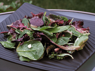 Baby-Greens-with-Maple-Shallot-Vinaigrette