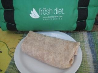 Fresh Diet turkey wrap